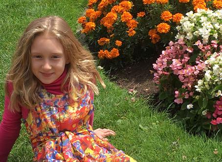 Ella, eight years old, Redwood City