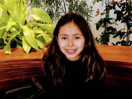 Sara, nine years old, San Francisco