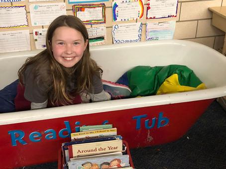 Anna, nine years old, Denver
