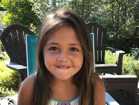 Gia, six years old, Oakland