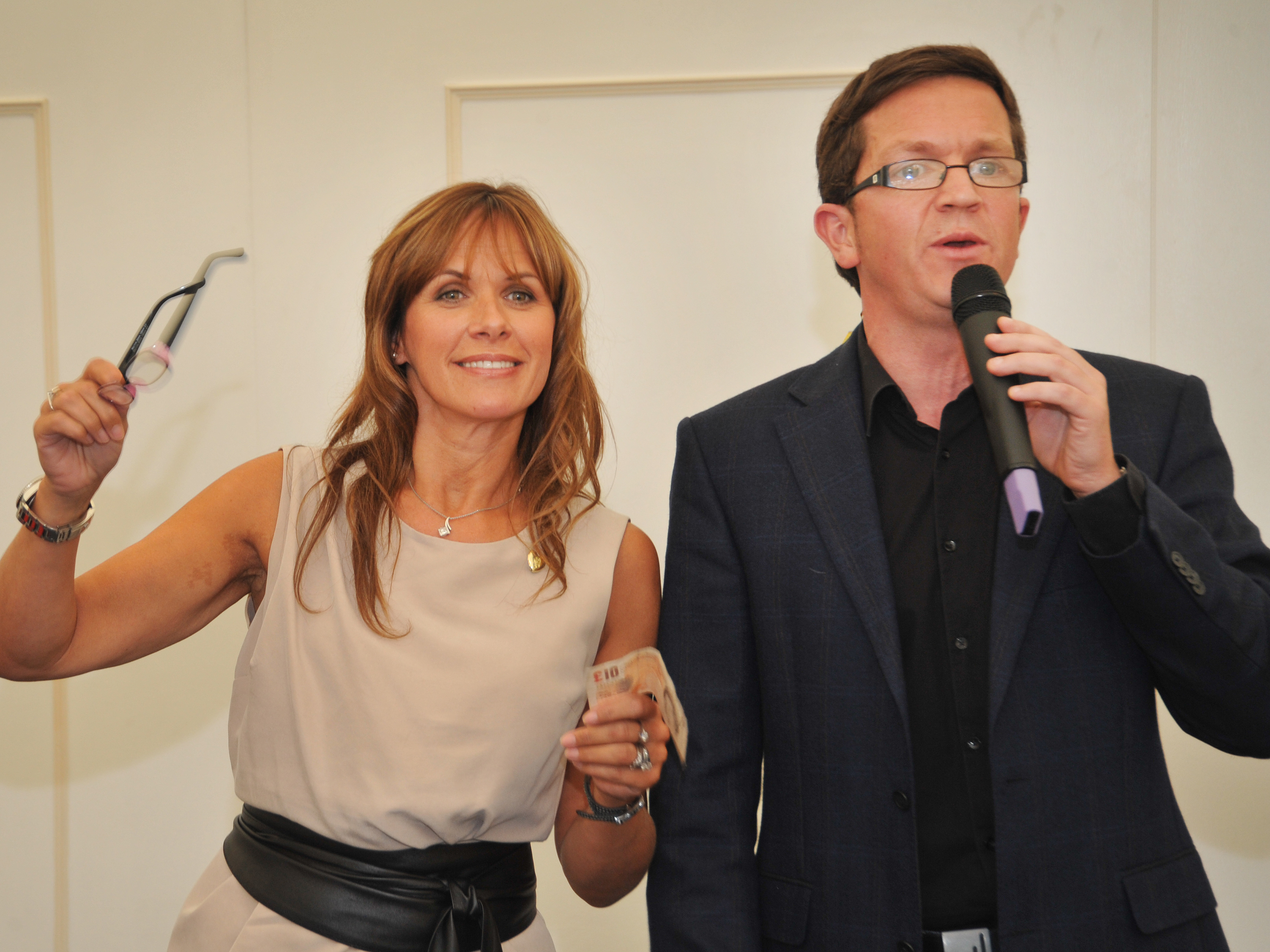 Working with Carol Smillie