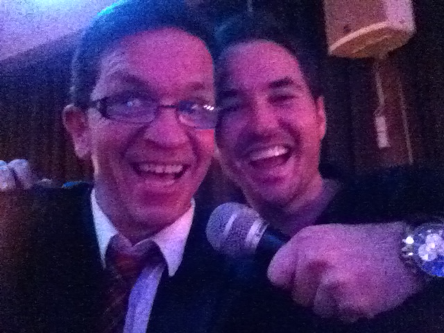 Working with Martin Compston