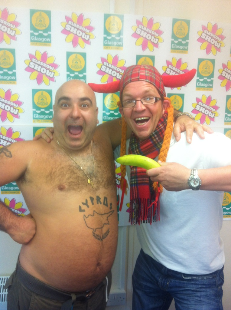 Working with Stavross Flatley