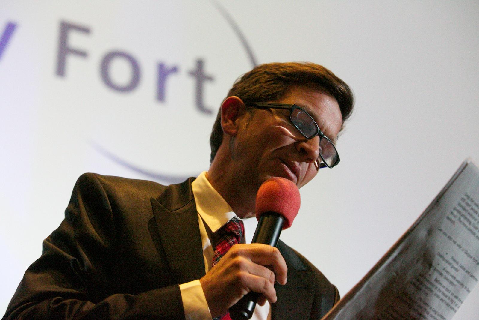 Awards Presenter Glasgow Fort