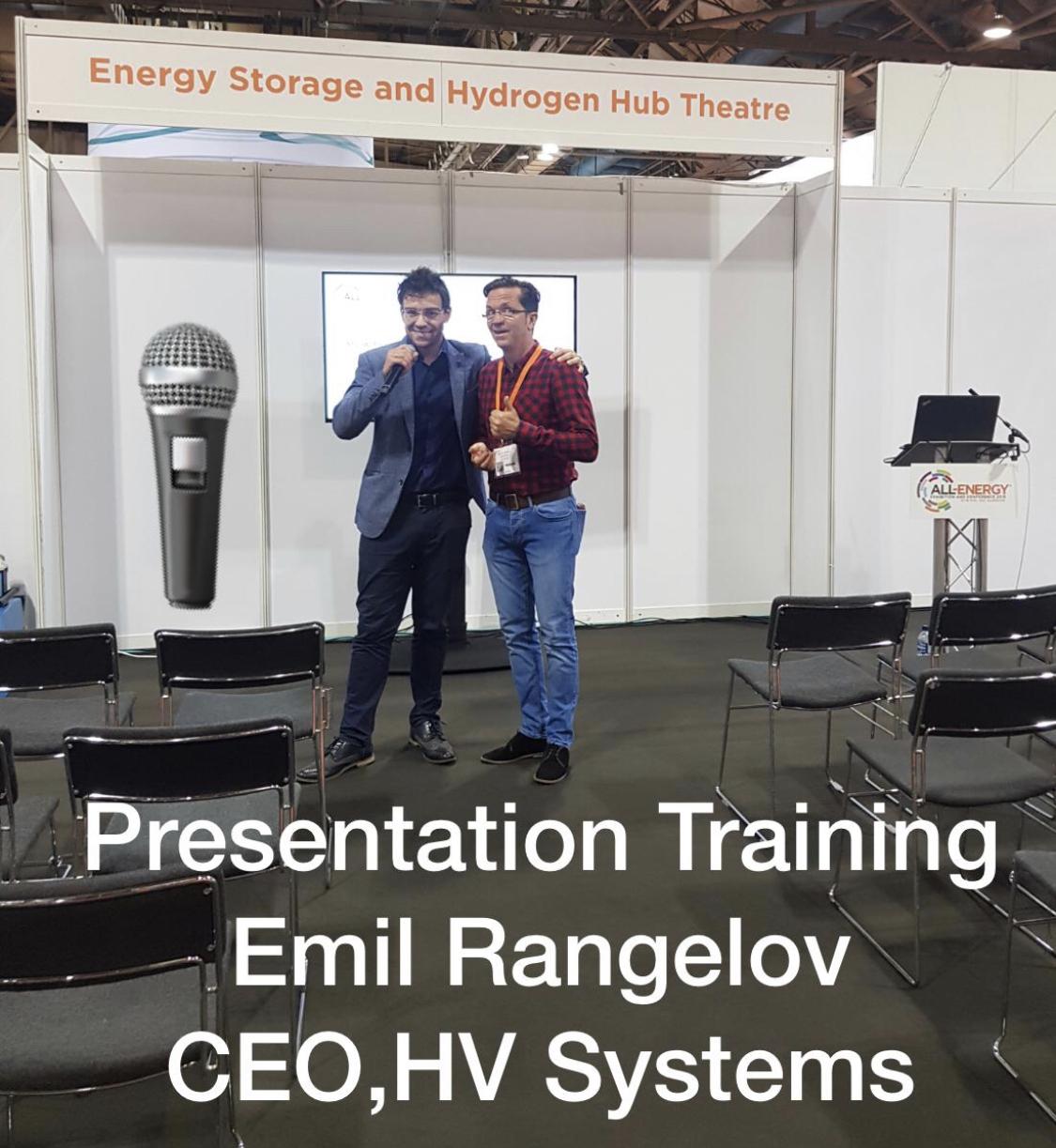 Presentation Training: Emil Rangelov