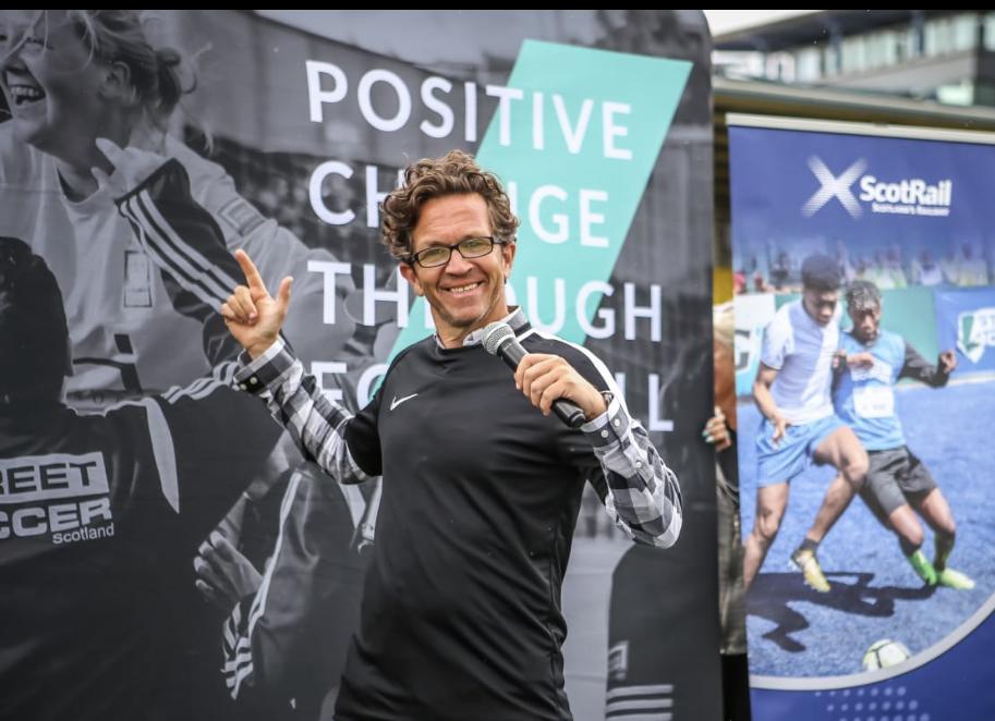Street Soccer Scotland MC