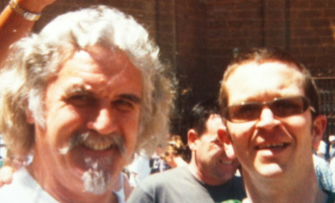 Presenting with Billy Connolly