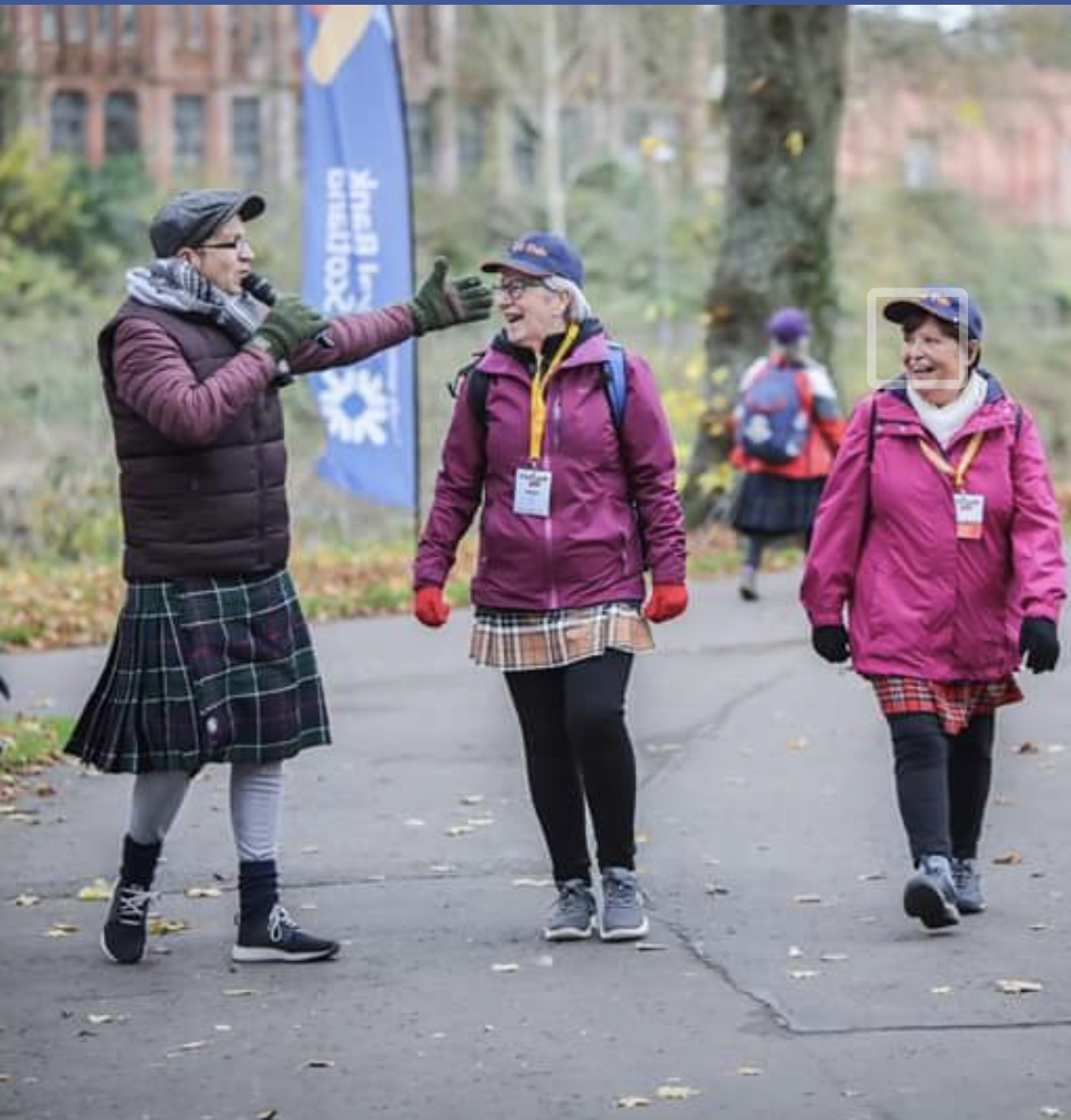 Kiltwalk MC