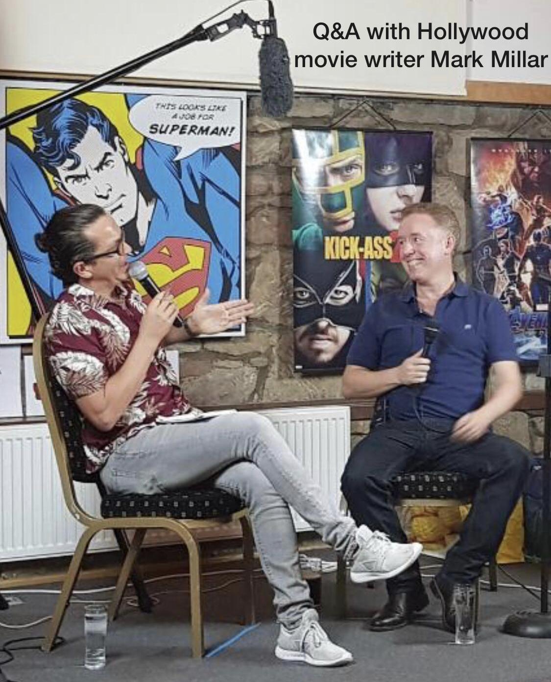 Q&A with Hollywood's Mark Millar