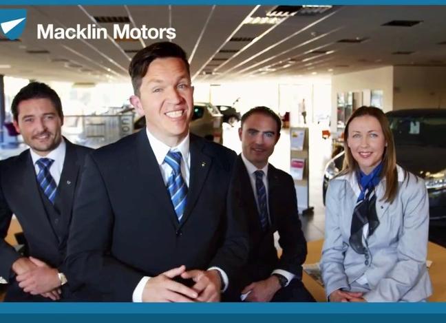 Macklin Motors TV AD