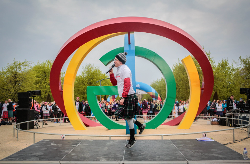Hosting The Kiltwalk