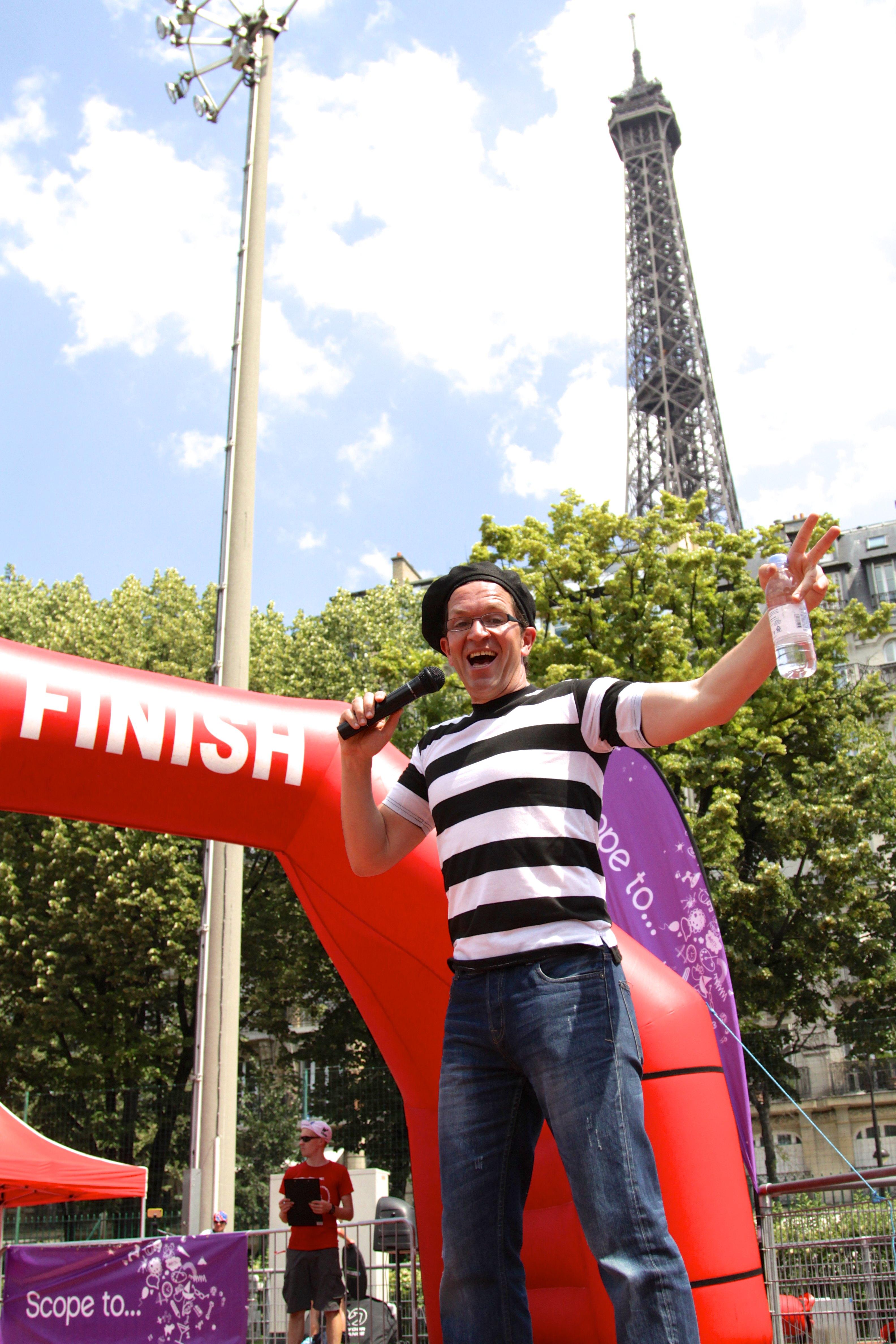 Presenting in Paris