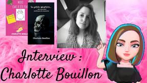 # Interview surprise: Charlotte Bouillon