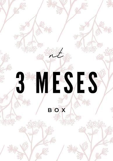 3 CAJAS / MESES