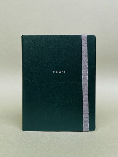 GREEN & SILVER MMXXII  WEEKLY PLANNER