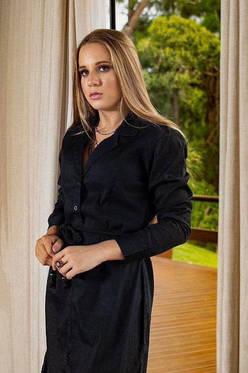 Vestido Chemise Black