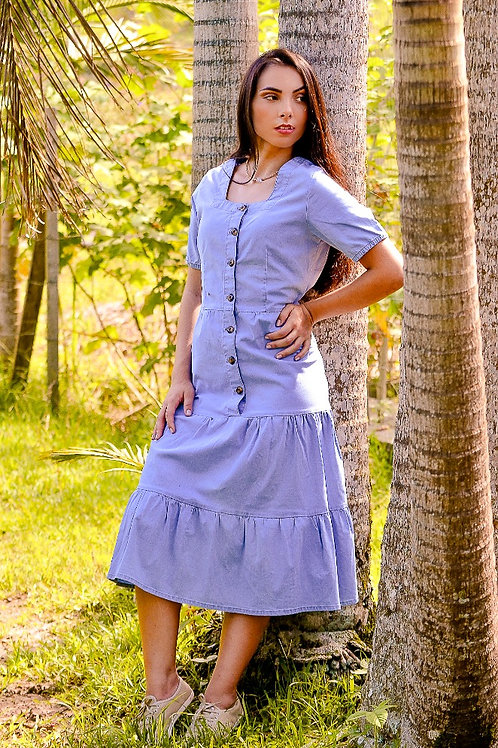 Vestido Três Marias Jeans