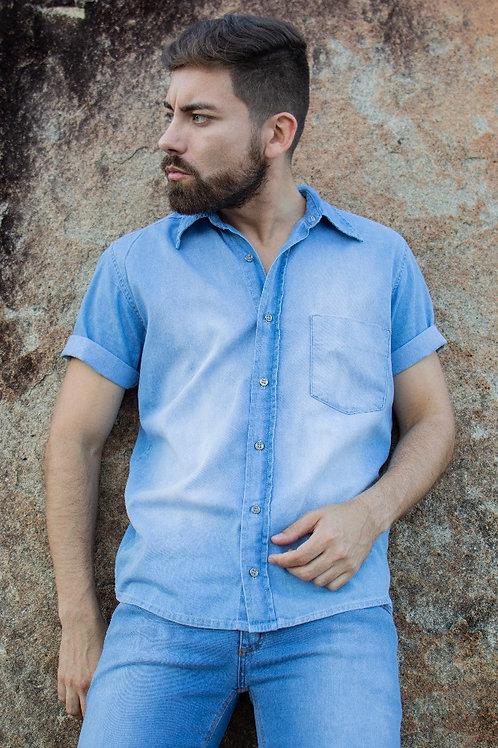 Camisa Masculina Um Bolso