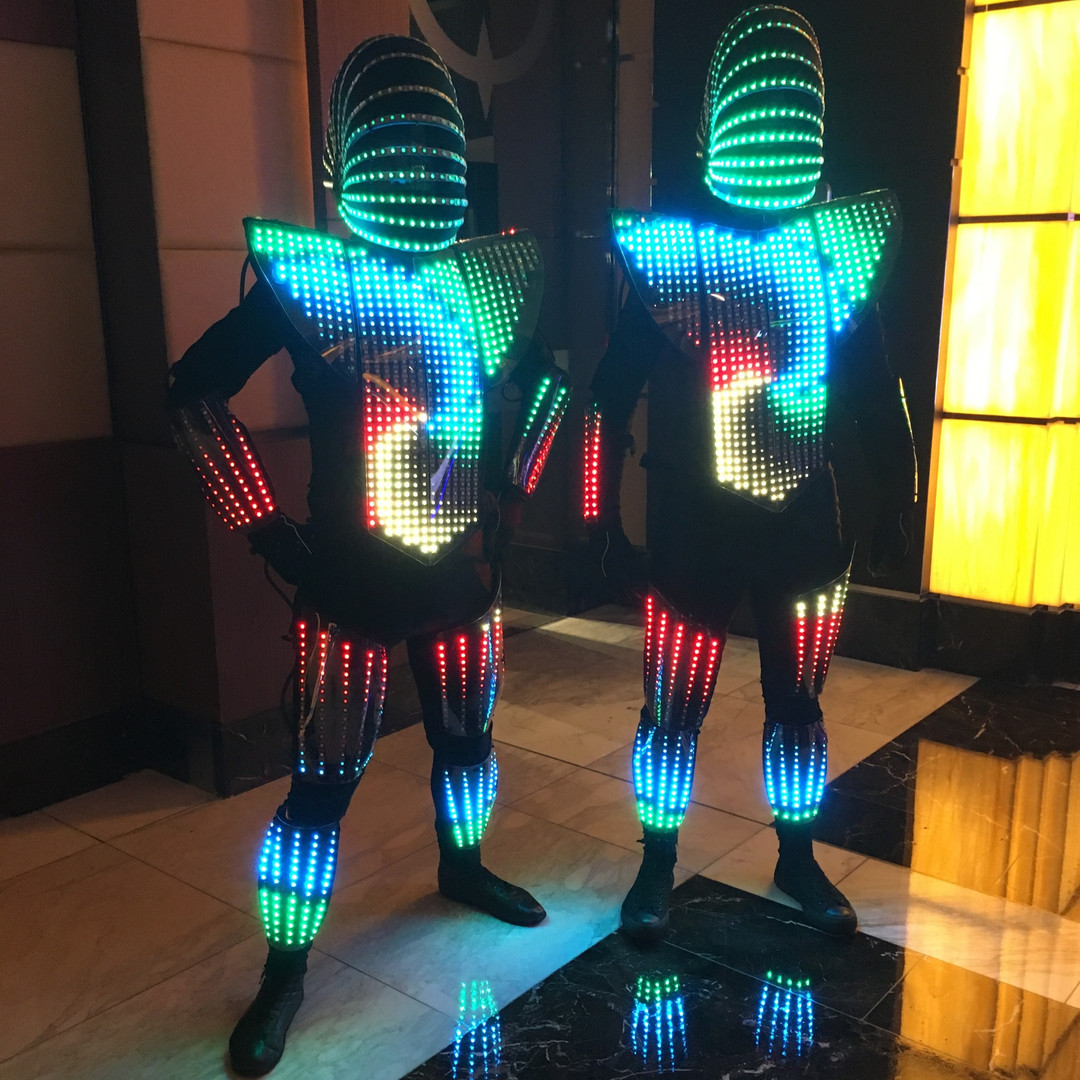 The LED Aliens at The Star Casino