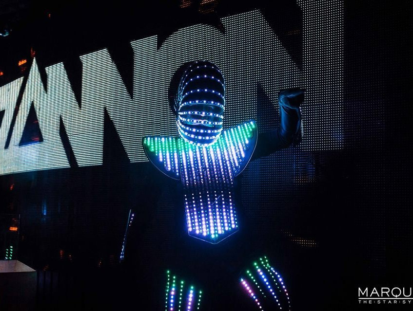 LED Dancers at Marquee Night Club