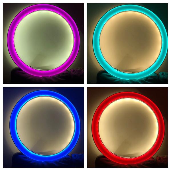 Changing color Led Frame
