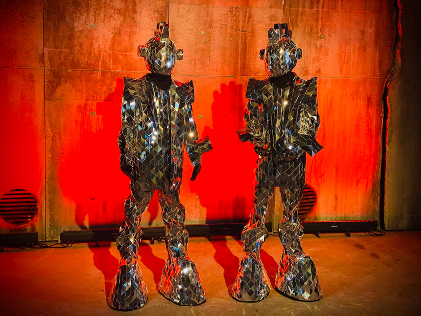 Spacemen Mirror Costumes