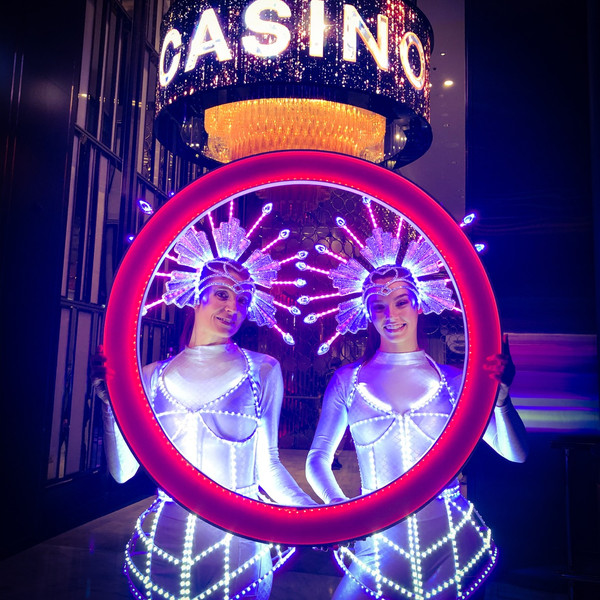 LED Cage Costumes