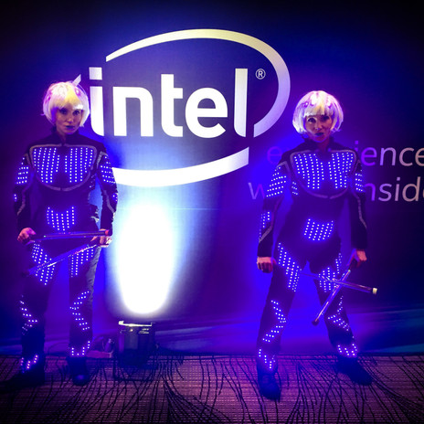 LED Performers, The replicants