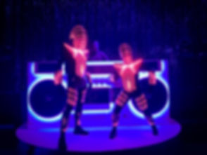 LED Dancers for hire in Sydney, weddings, private events and corporate functions.