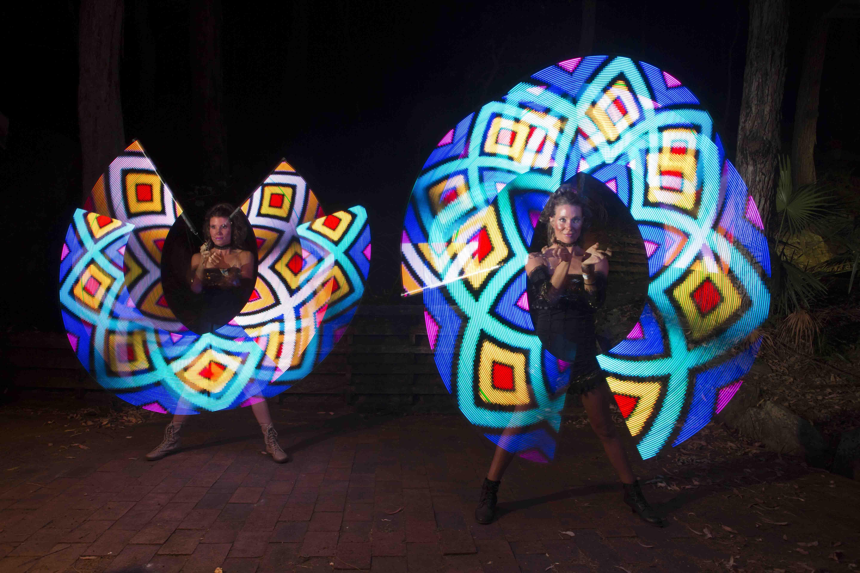 The Replicants   Led Dancers