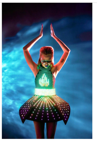 Led Dancers   Roving Entertainment