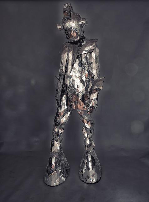 Futuristic Mirror Costume | Spaceman