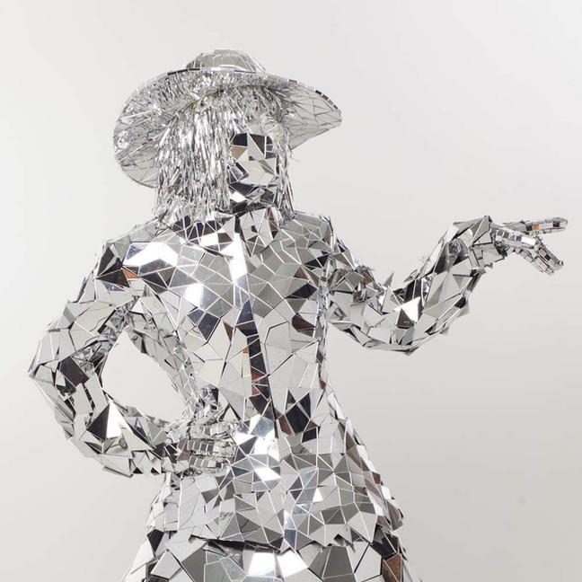 Mirror Lady costume