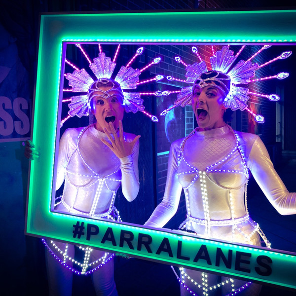 LED. picture frame and our led performers