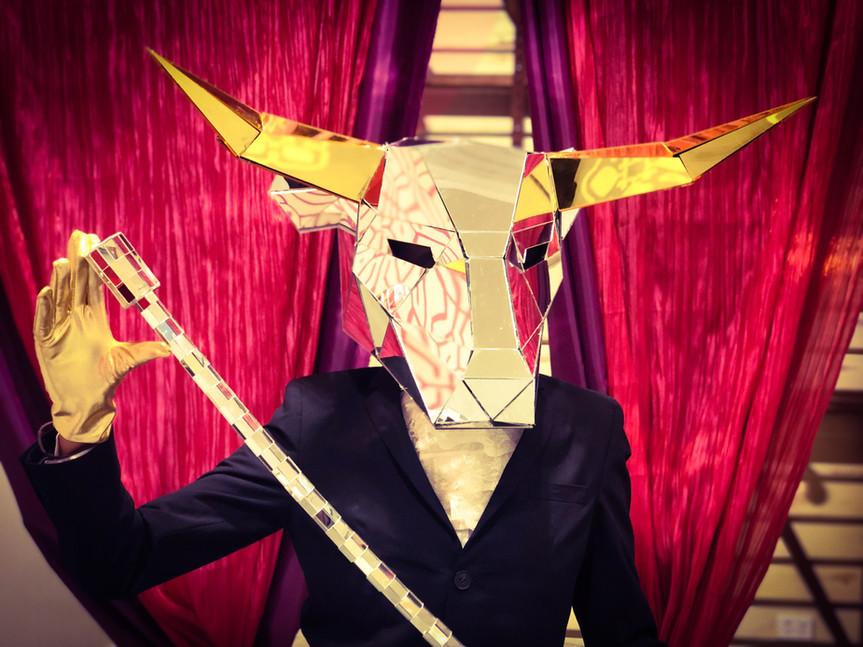 Mirror people Bull Heads