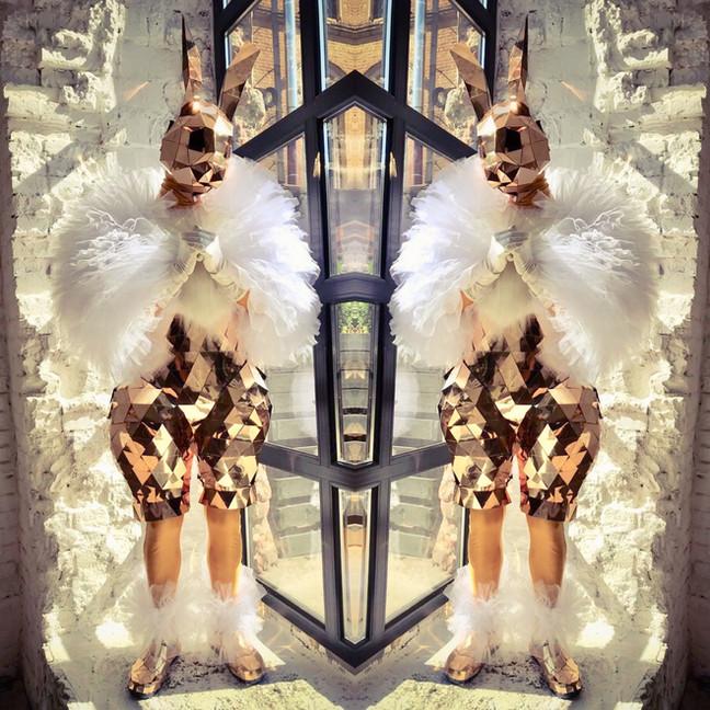 Mirror Bunnies costumes
