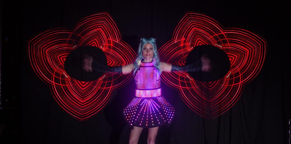 The Digidolls   LED Dancers