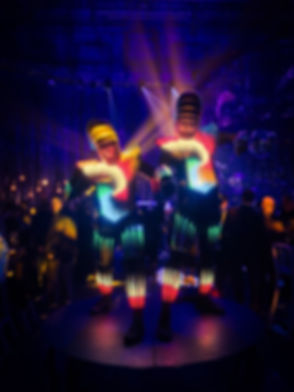 LED Performers for hire