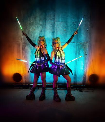 The Digidolls, Illuminated Entertainment.