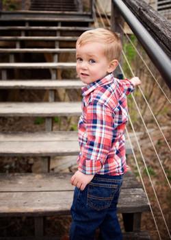 Toddler Boy at Lawrence University