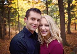 Fall couple photo