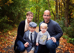 Fall family session at High Cliff