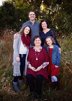 Family session at High Cliff