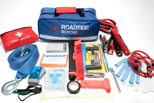 Roadside Rescue Emergency Delux 104 Piece Kit
