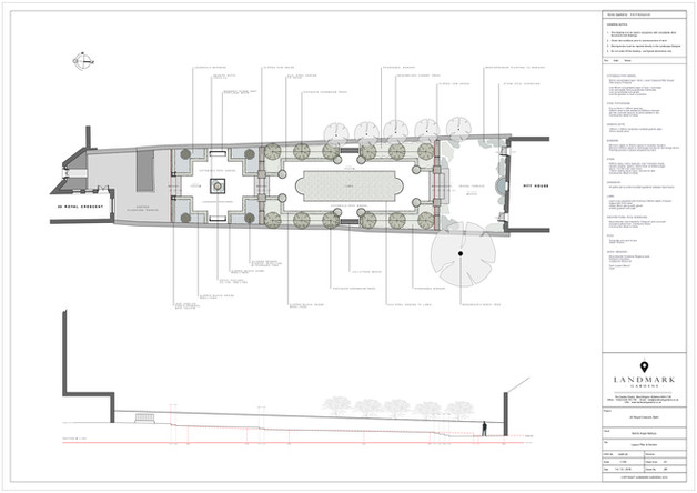 layout plan / scheme design / section