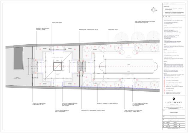 mechanical, electrical, plumbing drawing