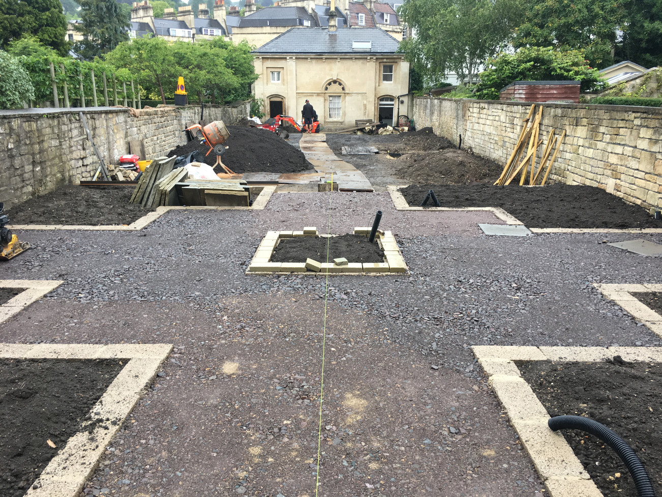 construction - setting out