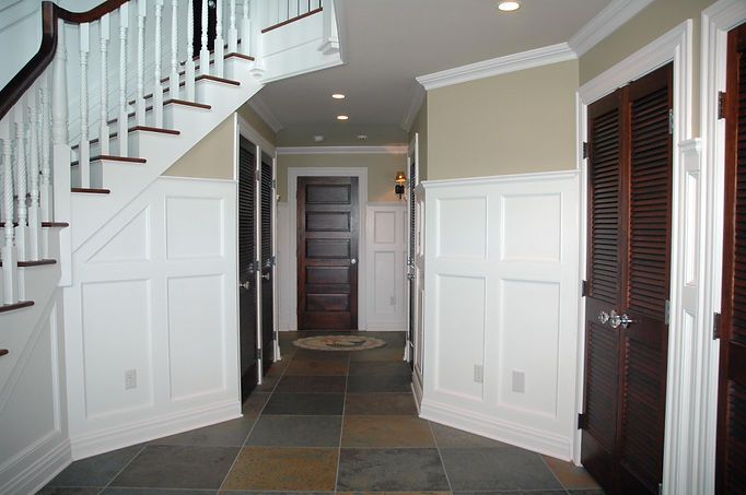 Contemporary, Addition, Alteration, Vacation Home, Front Entry, Westfield, New Jersey, Architect
