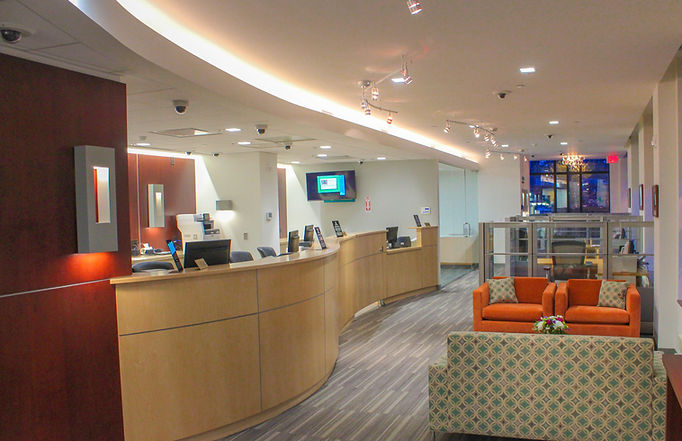 Dental Office, Office Building, Alteration, Interiors, Front Lobby, Westfield, New Jersey, Architect