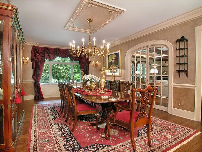 Tudor, Tudor Revival, Addition, Alteration, Dining Room, Westfield, New Jersey, Architect